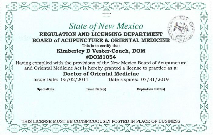Acupuncturist Bio: DiplOM, LAC, DOM, LMT, NCCAOM